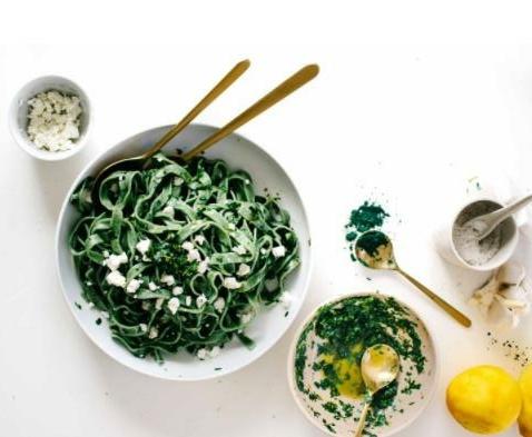 Spirulina Super Green Pasta